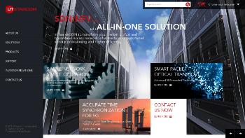 UTStarcom Holdings Corp. Website Screenshot