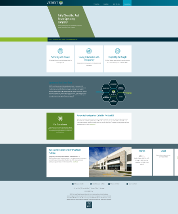 VEREIT, Inc. Website Screenshot