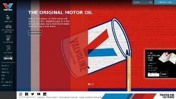 Valvoline Inc. Website Screenshot