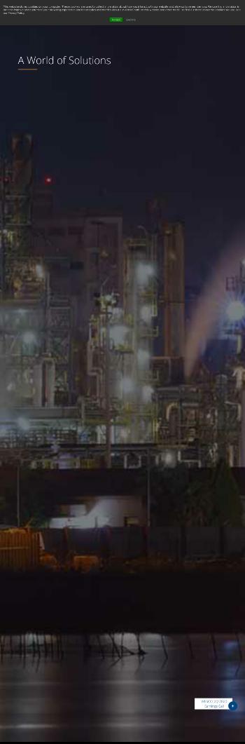 WESCO International, Inc. Website Screenshot