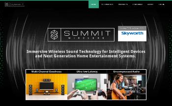 Summit Wireless Technologies, Inc. Website Screenshot
