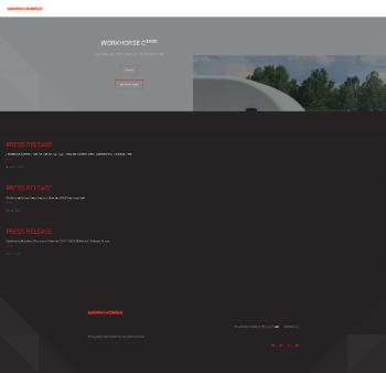 Workhorse Group Inc. Website Screenshot