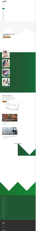 WesBanco, Inc. Website Screenshot