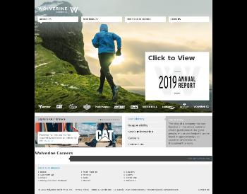 Wolverine World Wide, Inc. Website Screenshot