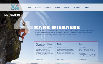 X4 Pharmaceuticals, Inc. Website Screenshot