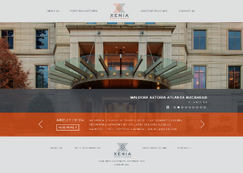 Xenia Hotels & Resorts, Inc. Website Screenshot