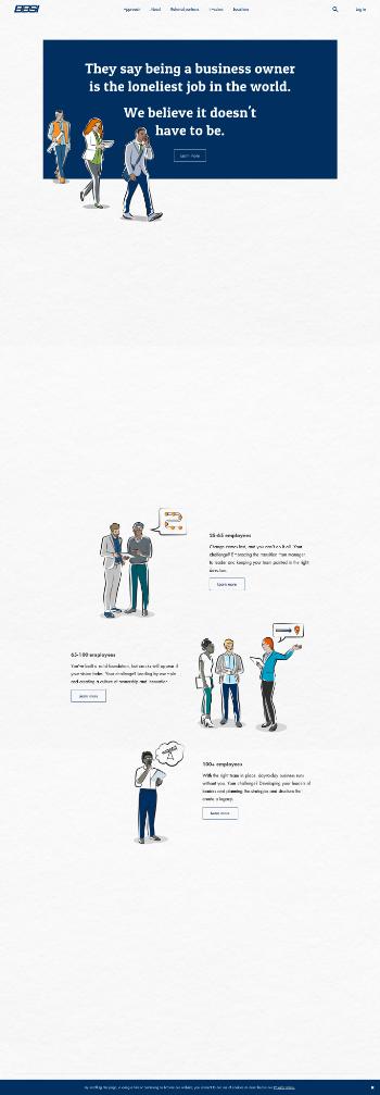 Barrett Business Services, Inc. Website Screenshot