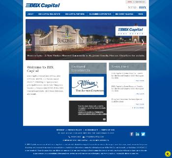 BBX Capital Corporation Website Screenshot