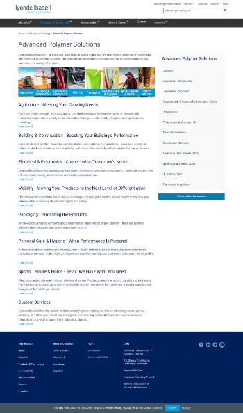 A. Schulman, Inc. Website Screenshot