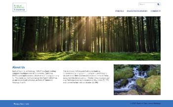 Bank of Commerce Holdings Website Screenshot
