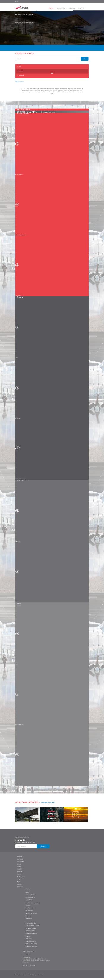 Grupo Aeroportuario del Centro Norte, S.A.B. de C.V. Website Screenshot