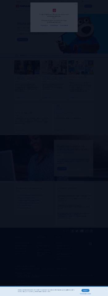 Popular, Inc. Website Screenshot