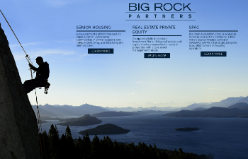 Big Rock Partners Acquisition Corp. Website Screenshot