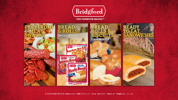 Bridgford Foods Corporation Website Screenshot