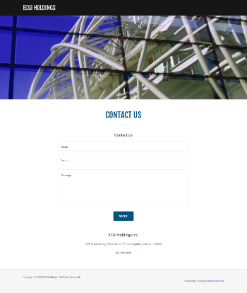 Envoy Capital Grp. Inc.  Website Screenshot