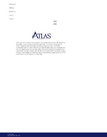 American Technology Website Screenshot