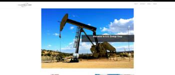U.S. Energy Corp. Website Screenshot