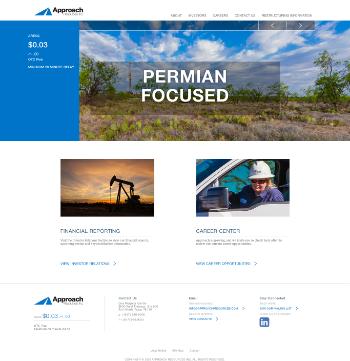 Approach Resources, Inc. Website Screenshot