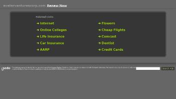 Avatar Ventures Corp. Website Screenshot