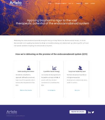 The Aristotle  Website Screenshot